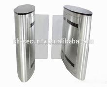 Access Control 304 Stainless Steel Swing Turnstiles Electronic Barrier Turnstile Gate Design