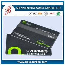 Hot sell HF/UHF smart business card with chips