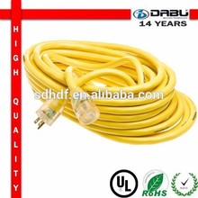 NEW Product 25M 3 Roubd Pin Extension Cord Yellow
