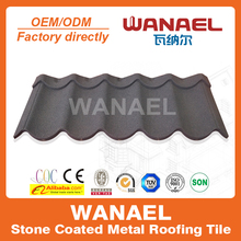 Sand coated metal roofing tiles, Modern tile, latest building materials
