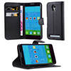 Book Wallet Phone Case Cover With Stand For Alcatel Idol 2 Minis
