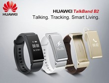 Original Huawei Talk Band B2 Bluetooth Smart Bracelet Fitness Wearable Health Sports Compatible smart Mobile Phone Device