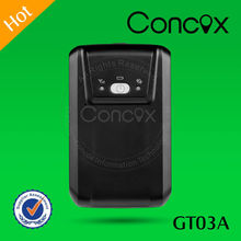Concox Direct Manufacture Long Standby Strong Magnet GT03A Mini GPS GPRS Vehicle/Truck Tracker Can Set 4 SOS Number