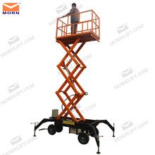 Strong structure trailing scissor lift/mini lifter