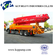 Benz/ HOWO/ ISUZU/ DAEWOO Chassis Concrete Boom pump Truck /KCP Concrete Pump for sale