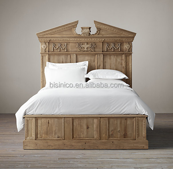 Luxury spanish colonial revival style bed retro bedroom for Spanish style bed
