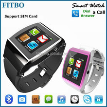 Top Functions GSM SIM TF Pedometer hot sale china watch mobile phone