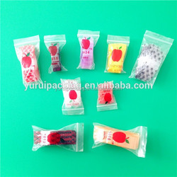 High quality manufacturer PE apple mini ziplock bags