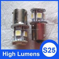 8 SMD 5050 S25 auto car led turning light 1156 led