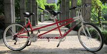pulgadas 26 bicicleta para dos personas