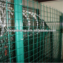 wave shape mesh fence