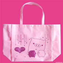 Custom logo printing trade show advertising Foldable non-woven bag / non-woven tote bag