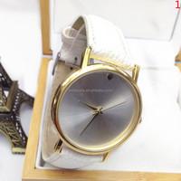 2015 Best price Hot Selling Wholesale Unisex Beautiful Fashion PU Leather Watch