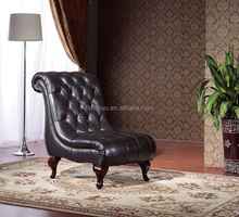 elegant leather chaise lounge/luxury chaise lounge/french chaise lounge