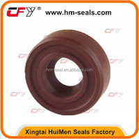12x24x7mm SC / R21 Single Lip Viton Rubber Metric Shaft Oil Seal with Spring