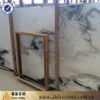 Chinese white china factory marble chips flooring