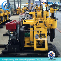 small 100m, 200m,1000m deep Good water well drilling rig machine price,Used Borehole core Drilling Machine for Sale