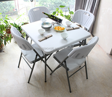 34inch plastic folding square table, outdoor leisure table, household square dinning table