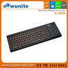 Hot sale ultra slim wireless touch screen computer keyboard