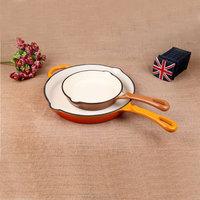 Eco-Friendly Feature cast iron colour fry pan