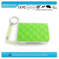 Best Selling 5600mah Portable Mobile Charger Extenal Battery Power Bank For Smart Phone