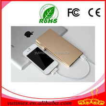5000 mah, ultra-thin power bank, custom logo portable mobile power bank