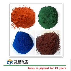 heat resistant pigment red iron oc xide for pavement brick paint