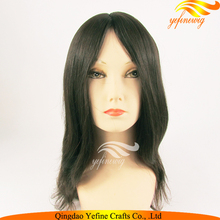 130%Density High Quality Silk Top European Human Hair Jewish Wigs Kosher Wigs