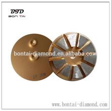 3 inch metal bond diamond concrete grinding shoes