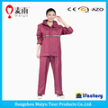 Popular impermeable plástico viajando chaqueta de lluvia / mujeres impermeable