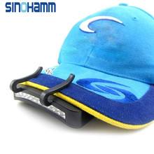 Super Bright 11 LED Hat Clip Light. Hands Free Ball Cap Visor Light Is Perfect for Home Renovations, Hunting, Camping