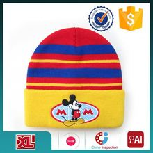 Newest factory sale long lasting hot sale beanie hat/ acrylic knitted hats reasonable price