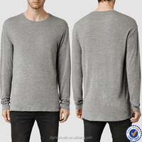 wholesale custom high quality mens clothing long sleeve t-shirts for men clothing factories in china