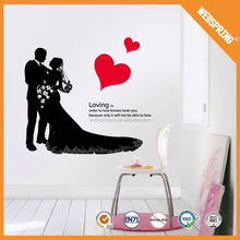 01-0252 Alibaba china adornment wall stickers wall stickers sport sexy lady