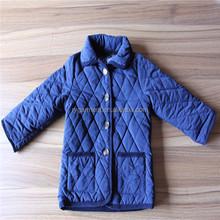 Korean Fashion High Quality Navy Winter Cotton Jacket