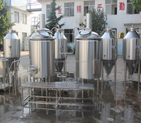 Temperature, Pressure auto control Beer brewing equipment in hotel,restaurant, bar with CE,TUV