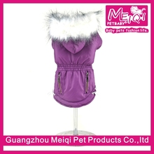 wholesale luxury winter dog coat with hats designer dog clothes