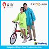 Maiyu 100% polyester bicycle rain poncho