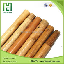 Best quality Varnished wooden stick with long handle for broom ,mop