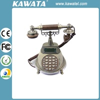 Classical Decorated Cordless Retro Antique Phone