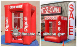 High quality Cash cube inflatable money / Inflatable cube tent / inflatable cube marquee /