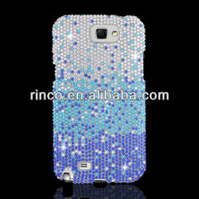 Full Diamond Luxury Bling Case Waterfall for Samsung GALAXY NOTE 2 II N7100 Case
