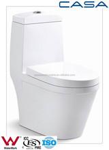 siphonic decorative toilet one piece ceramic hidden toilet