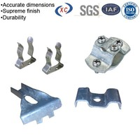 Stamped parts metal hanging clips metal saddle clips