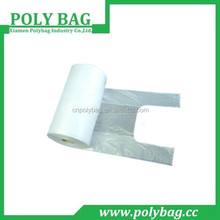 PE design printed transparent promotion plastic bag for vegetables