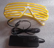 Colorful LED flashing sunglasses with fashion designs/Party Supplies Colorful Led Flashing Sunglasses