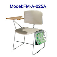 Hot sell student chair with tablet arm