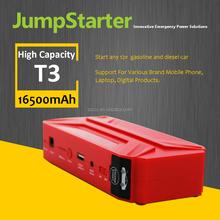 Single USB 2015 Hot Design Product 16500mah mini battery booster epower 12v car multi-function start power