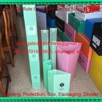 Weatherproof PP Corrugated Plastic Tree Guards/ Tree Protectors/ Tree shelters