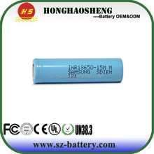 High discharge 23A 3.7v 1500mah for INR18650-15M Battery 18650 Li-ion Battery